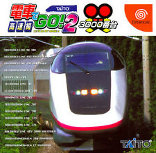 Densha De Go 2 Sega Dreamcast DC Import Japan 3000