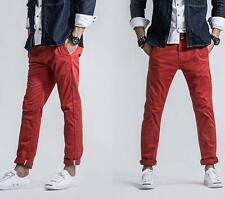 Mens oxford dress formal flat front straight leg casual pants trousers 8 color