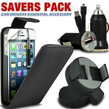 USB Charger,Leather Flip Case,SP,Stylus,Car Holder+Data Cable For Various Models