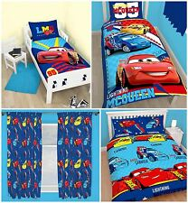 Disney Cars Piston Duvet Cover Bed Sets, Curtains Or Matching Accessories
