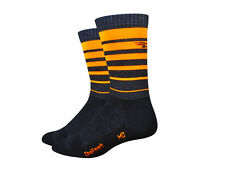 Defeet Classico Wool Socks - Orange Stripes