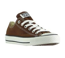 NEW Converse Chucks All Star Low Shoes Trainers Brown 1Q112 Leisure