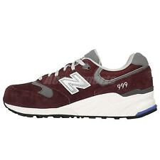 New Balance ML999BG D Red Grey Suede Mens Retro Running Shoes Sneakers ML999BGD