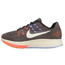 Wmns Nike Air Zoom Structure 19 Grey Orange Womens Running Shoes 806584-004