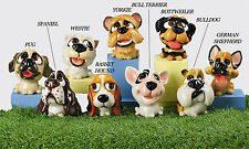 Poly-Resin Painted Dog Money Banks