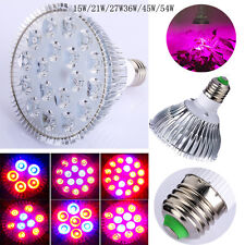 E27 LED Plant Grow Light Lamp Bulb for Flowering/leaf Growing Hydroponics System