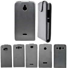 Flip Leather Pouch Cell Phone Accessories Skin Hard  Case Cover For Mobile Phone