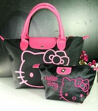 NEW HELLOKITTY HAND BAG PURSE BAG WITH MAKE UP COSMETIC BAG AA-2554-1