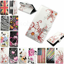 Wallet Designs Flip Phone Leather Soft Rubber Case Cover Fit For Sony Xperia Z3
