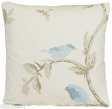 Blue Birds Cushion Cover Bird Cage Walk Fabric Nina Campbell Printed Fabric