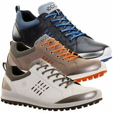 2016 ECCO Biom Hybrid 2 Hydromax Gore-Tex Waterproof -Yak Leather Golf Shoes