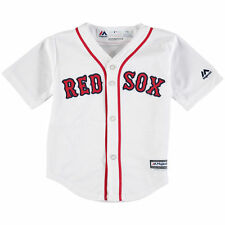 Boston Red Sox Baby KIDS Majestic Official Cool Base Baseball Jersey