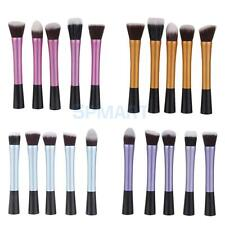 5Pcs Foundation Blending Brush Blush Kabuki Makeup Beauty Tool Cosmetics Brushes