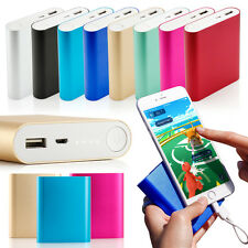 Portable 10400mAh Dual USB Battery Power Bank Charger For Cell Phone iPhone 6 6s