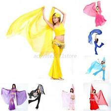 New Women Ladies Chiffon Shawl Veil Scarf Belly Dance Dancing Costumes Dress