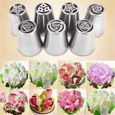 Simple Russian Icing Piping Nozzles Tips Cake Decorating Sugarcraft Pastry Tool