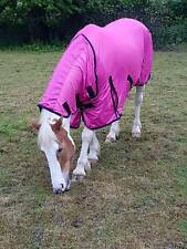 New Design Horse fly rug combo attached neck cover Choice of colours & Sizes