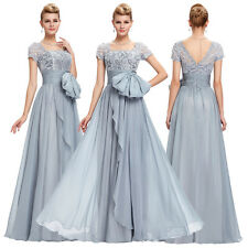 NEW Chiffon Lace Ball Gown Wedding Bridesmaid Evening Prom Party Dress PLUS SIZE