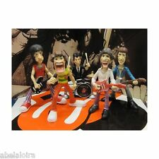 THE ROLLING STONES FIGURES FIGURES MICK JAGGER KEITH RICHARDS FIGURE RON WOOD