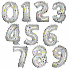 "New 1 pcs Foil Balloon 40"" Start With Numbers 0-9 Birthday Party Wedding Decor"
