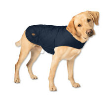 """Orvis Quilted Waxed-cotton Dog Jacket / Small 17"""" 18-34 Lbs."""