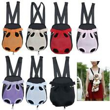 Dog Cat Nylon Pet Puppy Carrier Backpack Front Tote Carrier Net Bag All Colors