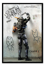 Framed Chappie Movie Teaser Poster New