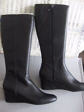 NIB $170  ROCKPORT Womens   K71602 ALISANNA TALL BOOTS LEATHER ADIPRENE
