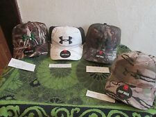 NWT~ YOUR CHOICE OF 4 STYLES. MEN'S (WOMEN'S) UNDER ARMOUR CAMO SNAPBACK  CAPS