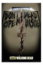 The Walking Dead Keep Out Poster New - Laminated Available