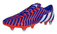 adidas Football Boots Predator Instinct SG Mens Cleats - Red and Purple - B35460
