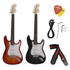 ST Electric Guitar Basswood Body Maple Neck with Accessories Kit Gig Bag I0L5