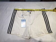 Womens size 9/10 white shorts Apollo Jeans New with tags
