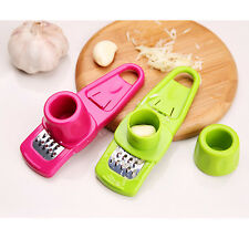 Ginger Garlic Crusher Peeler Mincer Stirrer Presser Slicer Good Kitchen Tool New