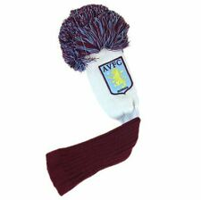 Aston Villa FC Golf Headcover Pompom (Fairway) Football Soccer EPL
