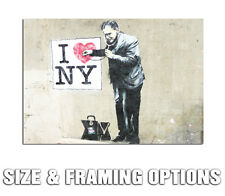 BANKSY NY DOCTOR MODERN GRAFFITI STREET ART HIGH QUALITY CANVAS POSTER PRINT