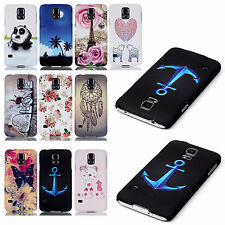 Colorful 3D Relief Snap On Hard Phone Case Cover For Various Mobile Cell Phone