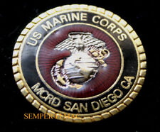 MCRD SAN DIEGO CA SEAL HAT PIN US MARINES BOOT CAMP GRADUATION DI SON MOM DAD
