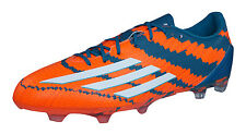 adidas Messi 10.2 FG Mens Soccer Boots / Cleats - Orange and Green - M29364