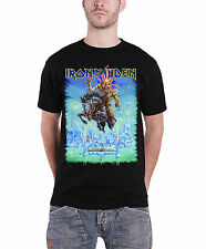 Iron Maiden Tour Trooper England 2014 Official Mens New Black T Shirt