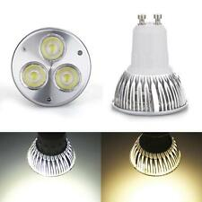 3W GU10 High Power LED Spot Light AC85-265V/DC12V Warm/White Bulb