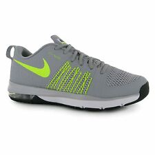 Nike Air Max Effort Sports Fitness Trainers Mens Grey/Volt Gym Sneakers Shoes