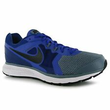 Nike Zoom Winflo Running Shoes Mens Graphite/Black/Violet Trainers Sneakers