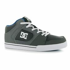DC Patrol Skate Shoes Mens Grey Trainers Sneakers