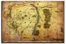 The Hobbit Movie Map Poster New - Laminated Available