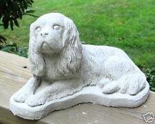 CONCRETE CAVALIER KING CHARLES DOG STATUE  OR USE AS A  MONUMENT