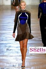 STELLA MCCARTNEY Antonella Tweed Runway AW/12 Dress New BNWT UK 6 8 14 IT 38 40