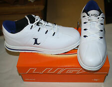 LUGZ ZROCS DX 1020 MENS SIZE 11.5 WHITE/BLUE NEW IN BOX FREE SHIPPING