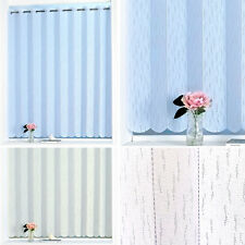 Plain Vertical Lace Pleated Blind Panel – Rod Pocket Top Heading - 72 inch Width