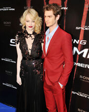 The Amazing Spider-man Poster or Photo Emma Stone Andrew Garfield at Premiere